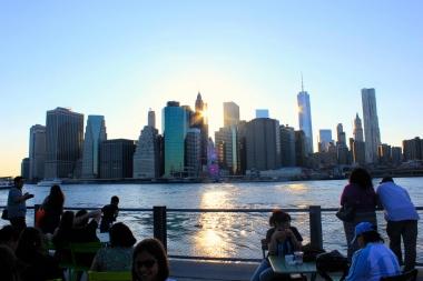 Manhattan View from Brooklyn Bridge Park