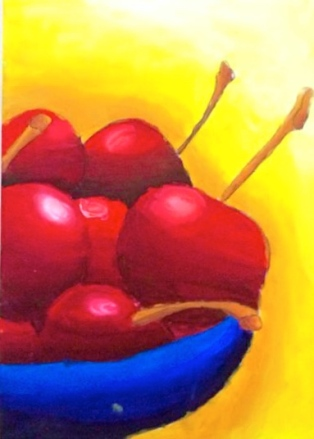 Painting by 6 yr. orld Yesica Isabel Hernando.