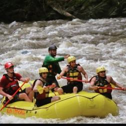 Rio Pacuare White Water Rafting. Costa Rica
