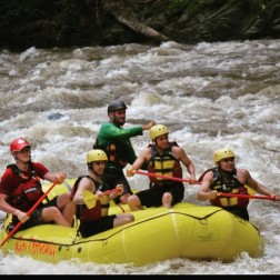 Rio Pacuare White Water Rafting. Costa Rica